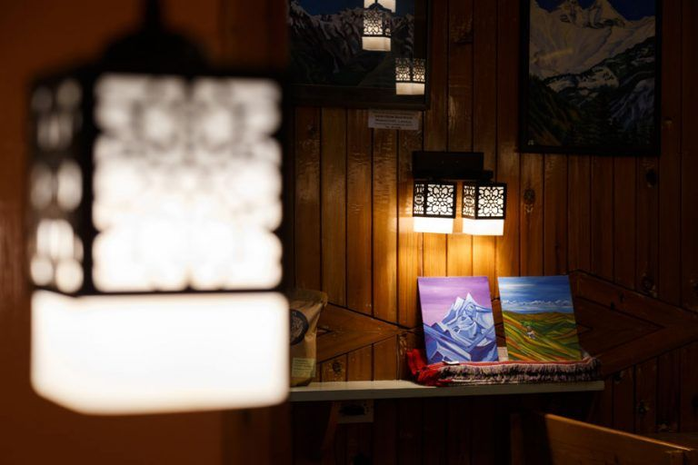 Art by guest artists on display at Wool Cafe