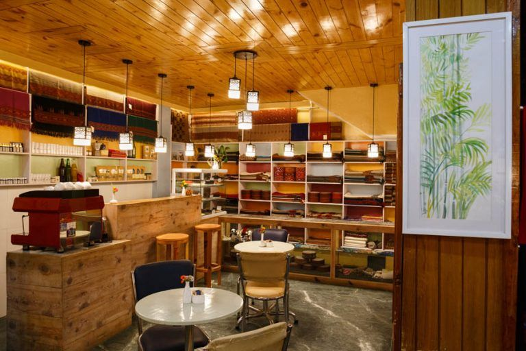 Wool Cafe interiors