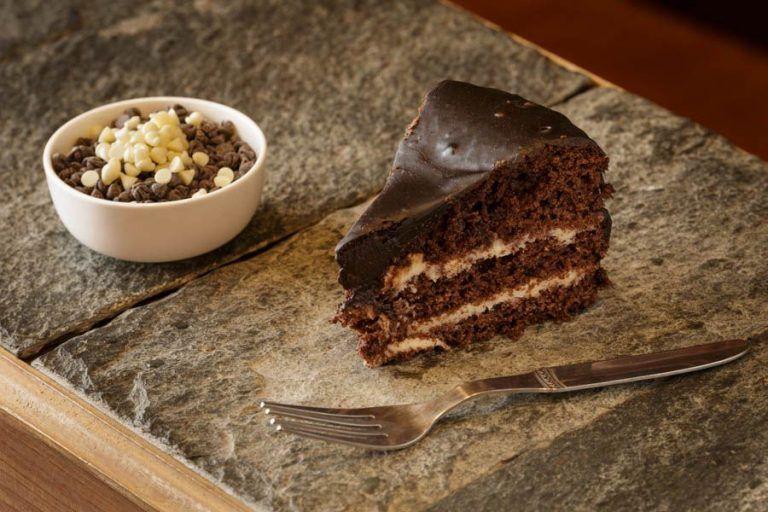 Chocolate Cake at Wool Cafe